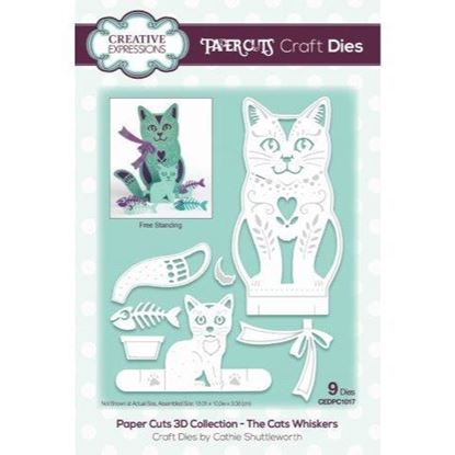 Creative Expressions Paper cuts Die - The Cats Whiskers