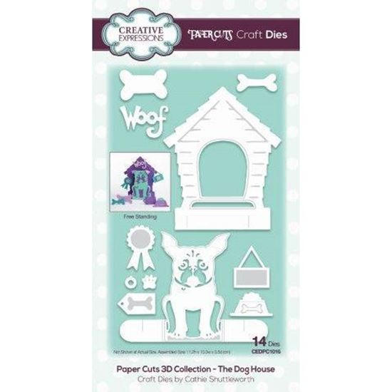 Creative Expressions Paper Cuts Die - The Dog House
