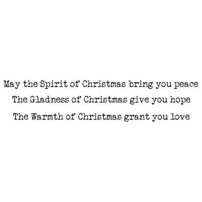 Lavinia Stamps  - Spirit of Christmas Words