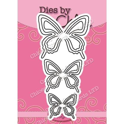 Dies By Chloe - Layered Butterfly