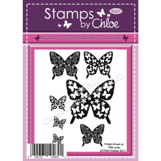 Stamps by Chloe - Butterfly Background Builder