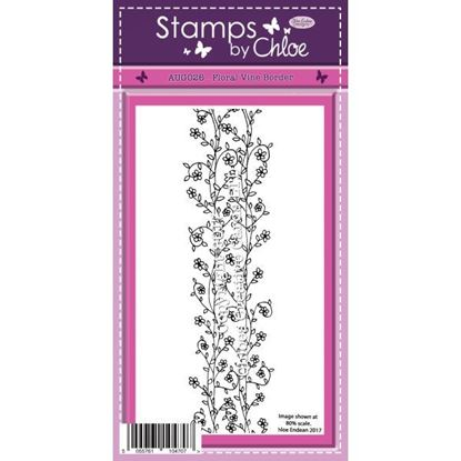 Stamps by Chloe - Floral Vine Border