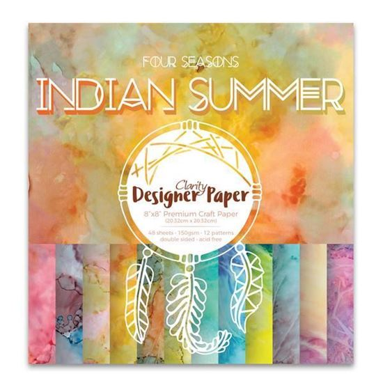 "8"" x 8"" Indian Summer Designer Papers"