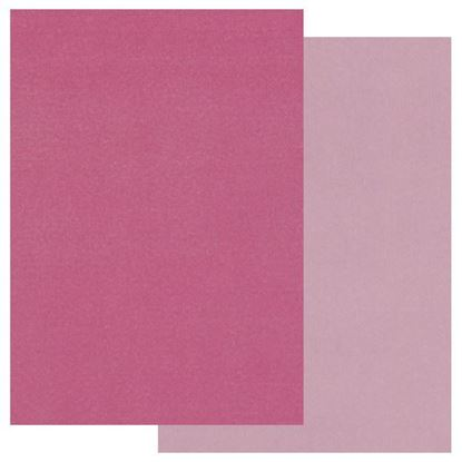 Two Tone A5 Coloured Parchment - Pinks