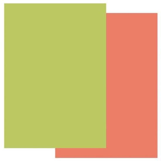 Groovi A4 Parchment Two Tone Orange Squash/Lime Twist