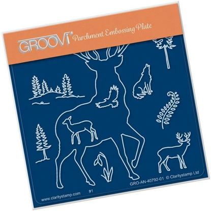 Stag Groovi Plate A6 Square