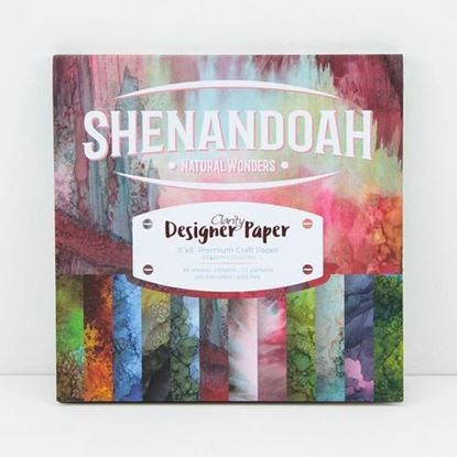 "Clarity 8"" x 8"" Shenandoah Designer Papers"