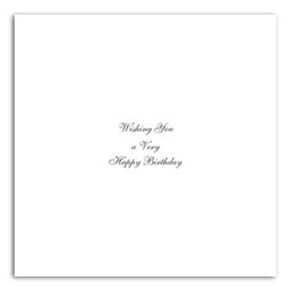 "Happy Birthday Inserts 7"" x 7"""