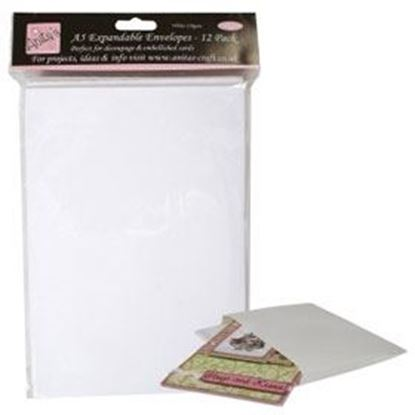 Anita's Expandable Envelopes A5 - White