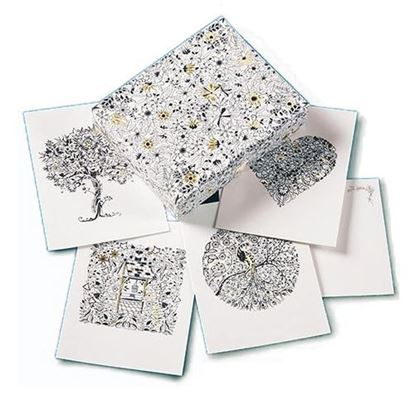 Secret Garden  Notecards by Johanna Basford