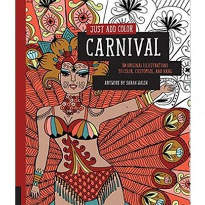 Just add Colour Carnival Adult Colouring Book
