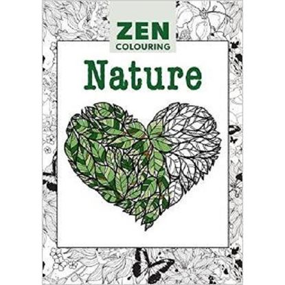 Zen Adult Colouring  Book Nature