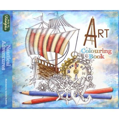 Nautical Adventures Colouring Book for Adults
