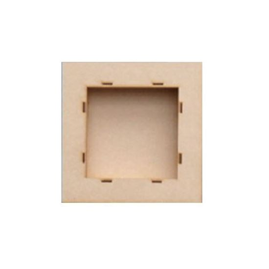 """MDF Box Frame Kit To Fit 6.5"""" Paper"""