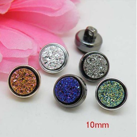Rhinestone Resin Buttons Assorted