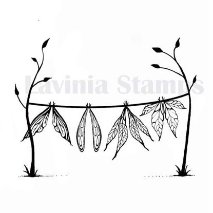 Lavinia Stamps  - Wet Wings