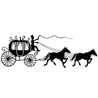 Lavinia Stamps  - Horse & Carriage