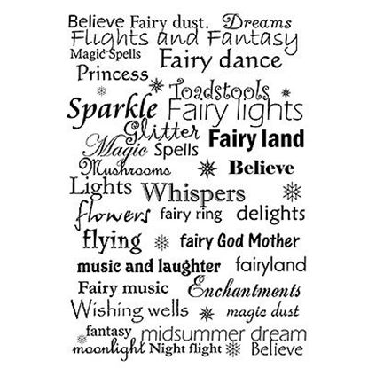 Lavinia Stamps  - Fairy Words Verse