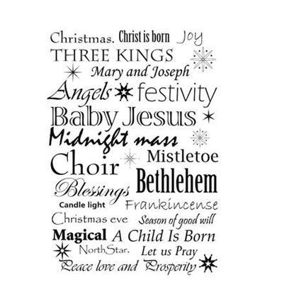 Lavinia Stamps  - Christmas Words Verse
