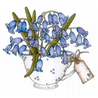 Daisy Mae Stamp - Blooming Bluebells
