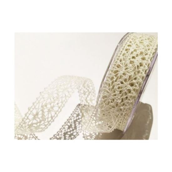 15mm Cotton Lace - Ivory