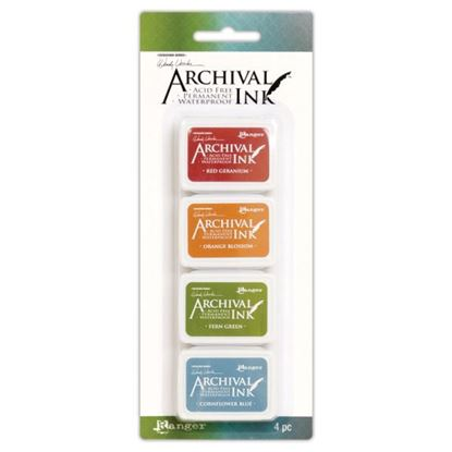 Wendy Vecchi Archival Mini Ink Pad Kit 4