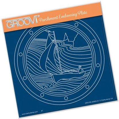 Sailor Round Groovi A5 Square