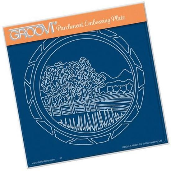 Napa Valley Round Groovi A5 Square