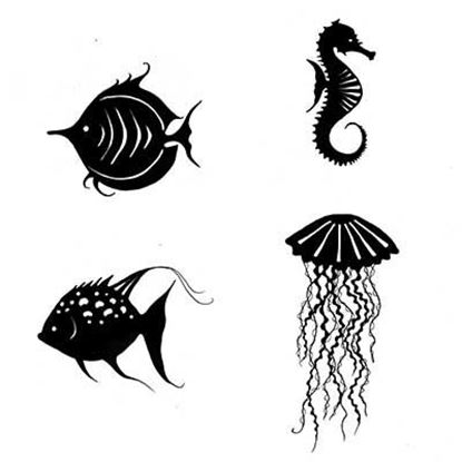 Lavinia Stamps  - Sea Creatures