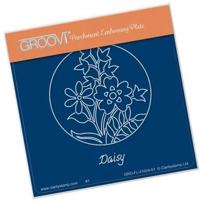 Daisy Round  Groovi A6 Square Plate