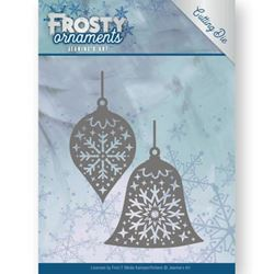 Frosty Ornament Dies - Christmas Baubles