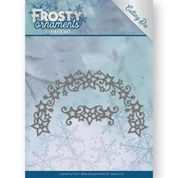 Frosty Ornament Dies - Frosty Wreath