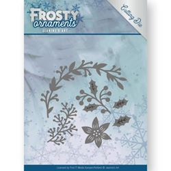 Frosty Ornament Dies - Christmas Branches