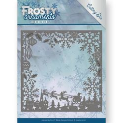 Frosty Ornament Dies - Frosty Frame