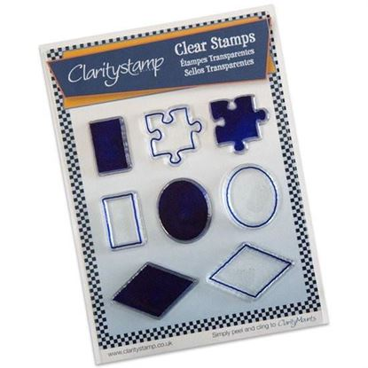 Clarity Clear Stamp Sam's Shapes (JORD)