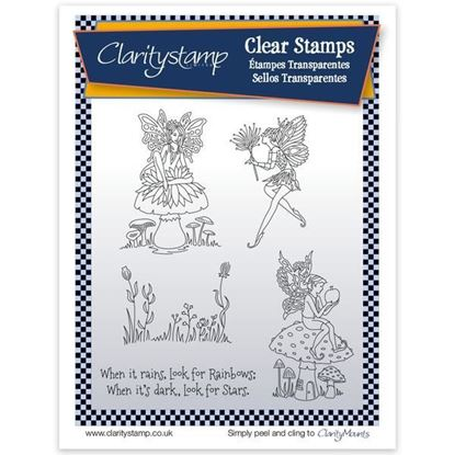 Clarity Unmounted Clear Stamp Set - Fairy 1