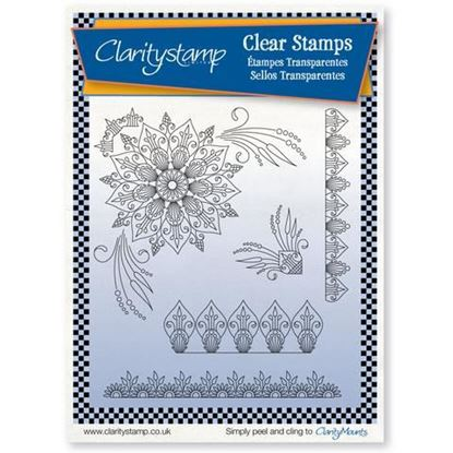 Clarity Stamps Set - Tina's Henna Corners1