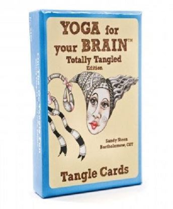 Yoga for the Brain Tangle Cards - Totally Tangled