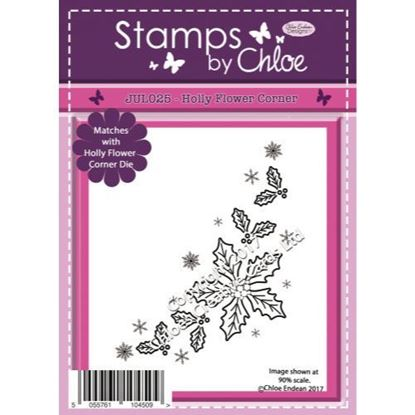 Stamps by Chloe - Holly Flower Corner