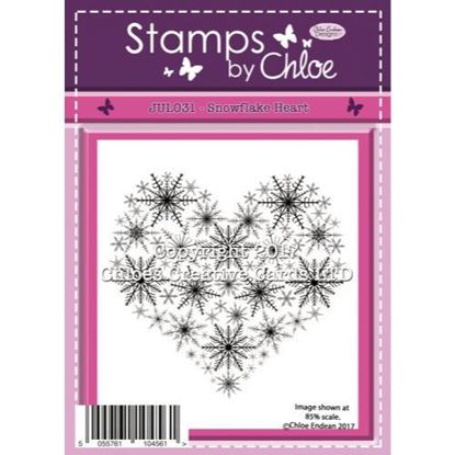 Stamps by Chloe - Snowflake Heart