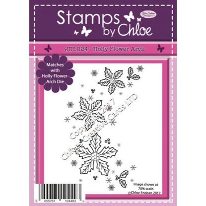 Stamps by Chloe - Holly Flower Arch