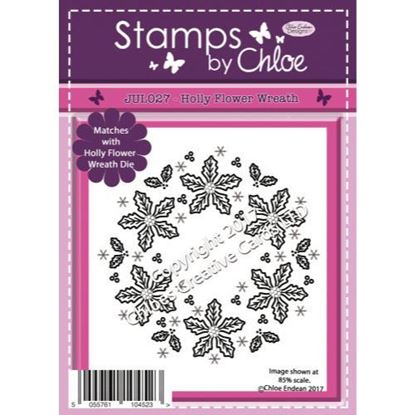 Stamps by Chloe - Holly Flower Wreath