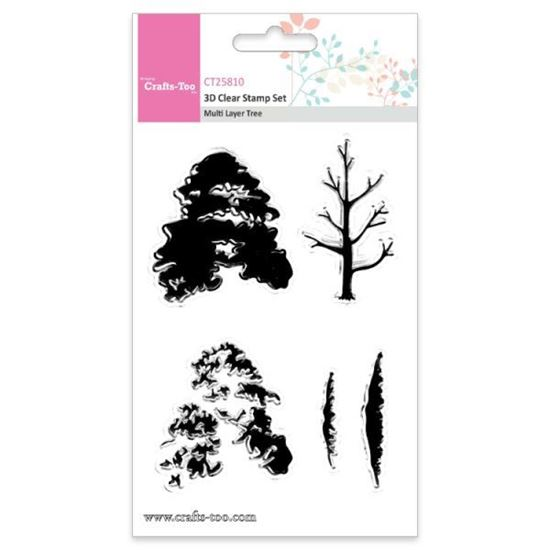 Crafts Too 3D Stamps Multi Layer Tree