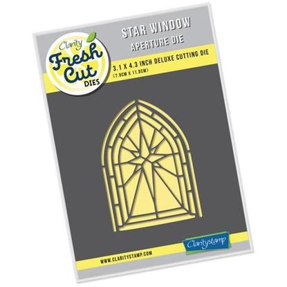 Star Window Aperture Fresh Cut Die
