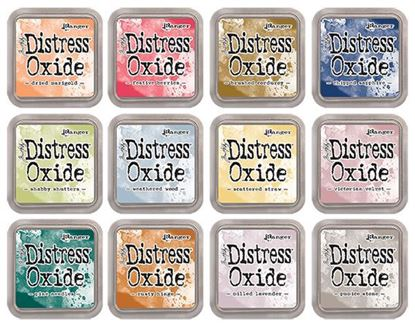 Picture of Distress Oxide Ink Pads - 12 New Colours for October 2018