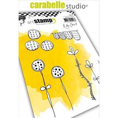 Carabelle Art Cling Stamps A6 - Journal Doodles.