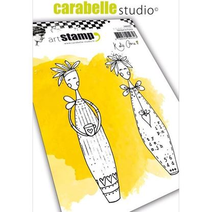 Carabelle Art Cling Stamps A6 - Lolly Dolly