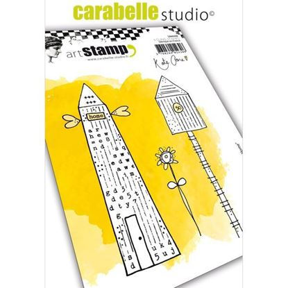 Carabelle Art Cling Stamps A6 - Home Sweet Home.