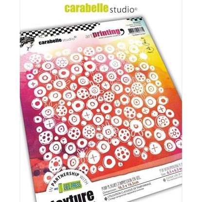 "Carabelle Art Printing 6"" Square - Scribble Circles"