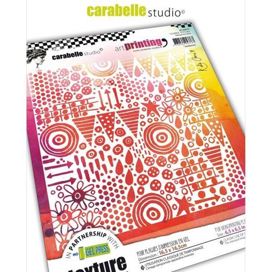 "Carabelle Art Printing 6"" Square - Jamboree by Kate Crane"